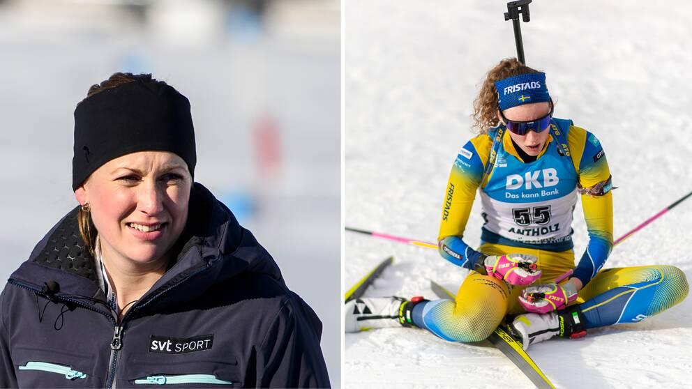 Helena Ekholm och Hanna Öberg.