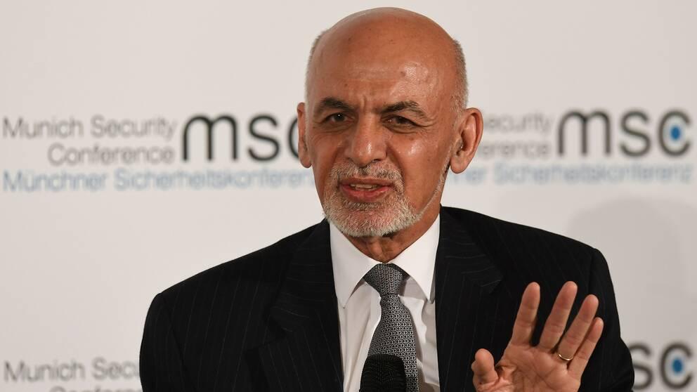 Afghanistans president heter även framöver Ashraf Ghani.
