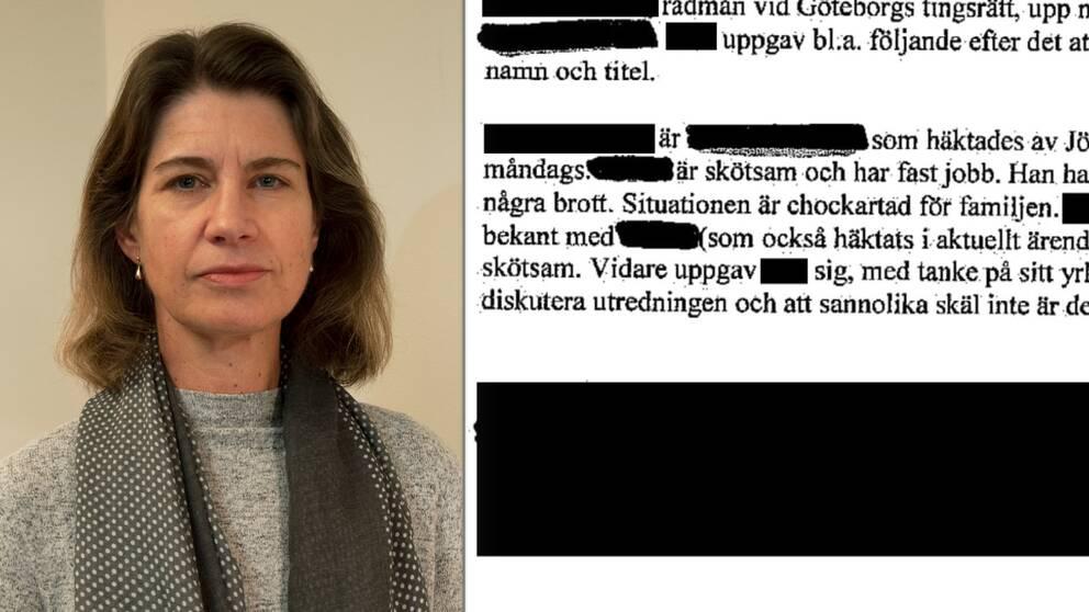 Carina Sjögren, byråchef JO
