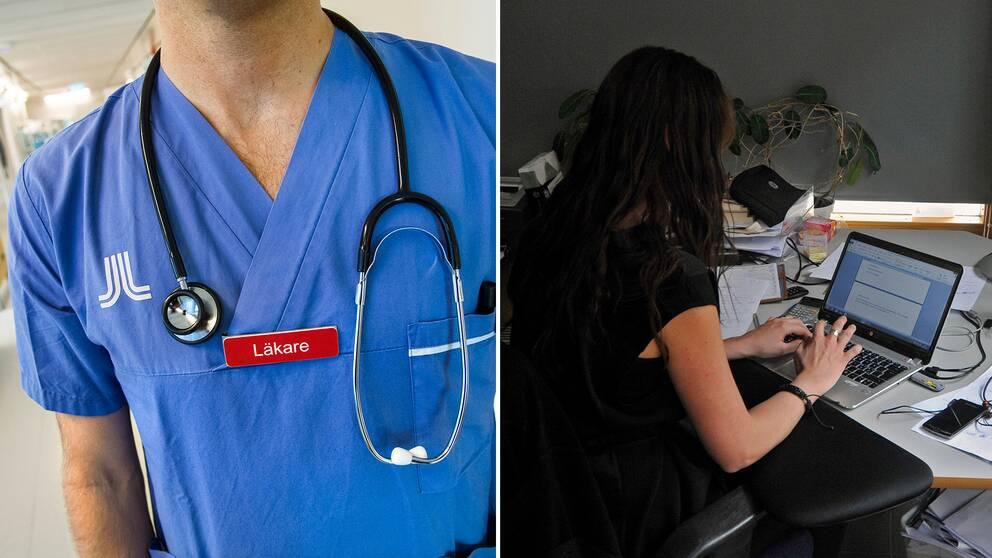 Läkare är hett eftertraktade på arbetsmarknaden – till skillnad från journalister och kommunikatörer.