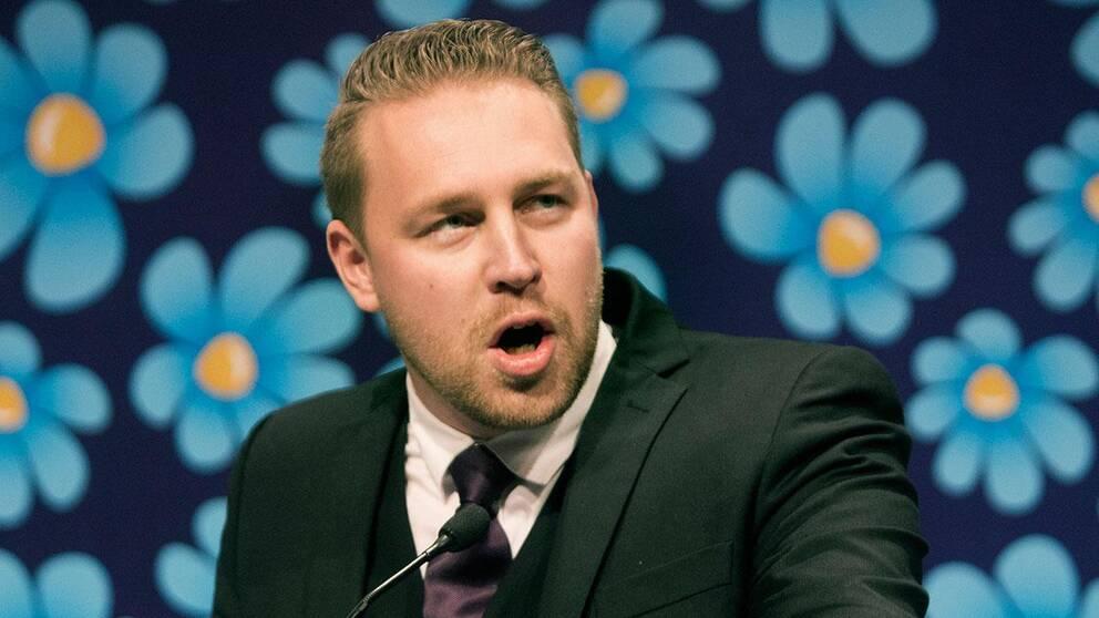 Mattias Karlsson, vikarierande partiledare, Sverigedemokraterna