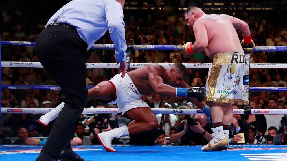 Andy Ruiz Jr chockade boxningsvärlden när han knockade mästaren Anthony Joshua i somras.