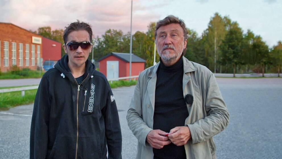 Rauno Koljonen och Janne Josefsson i Hallstahammar.