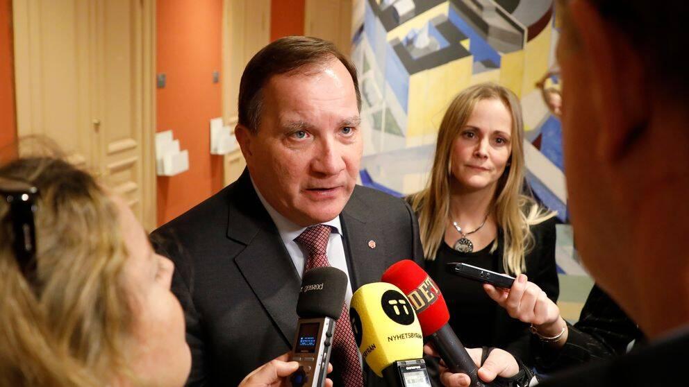 Statsminister Stefan Löfven (S) vill se en lösning på Palmemordet.