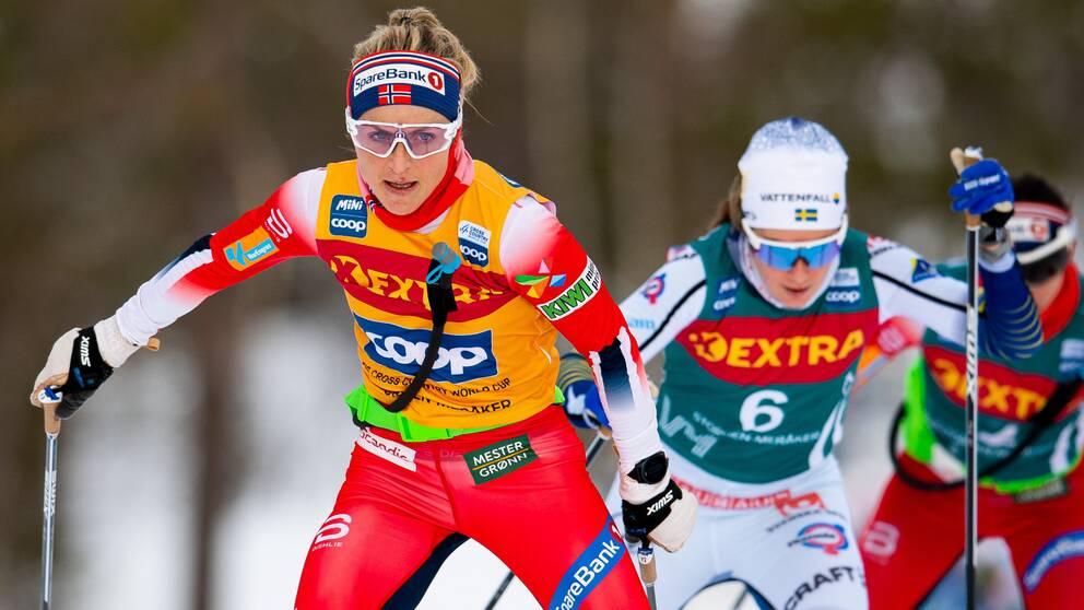 Therese Johaug vann långloppet i Ski Tour.