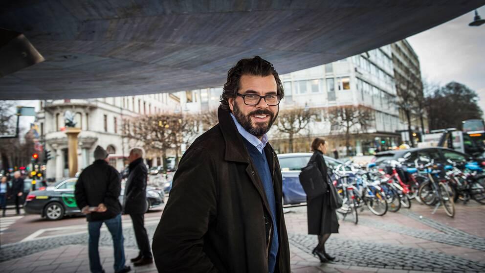 Fredrik Nordström, vd Fondbolagens förening.