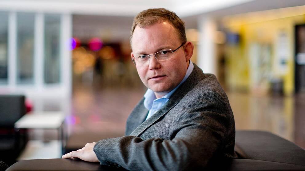 statsvetaren Henrik Ekengren Oscarsson.