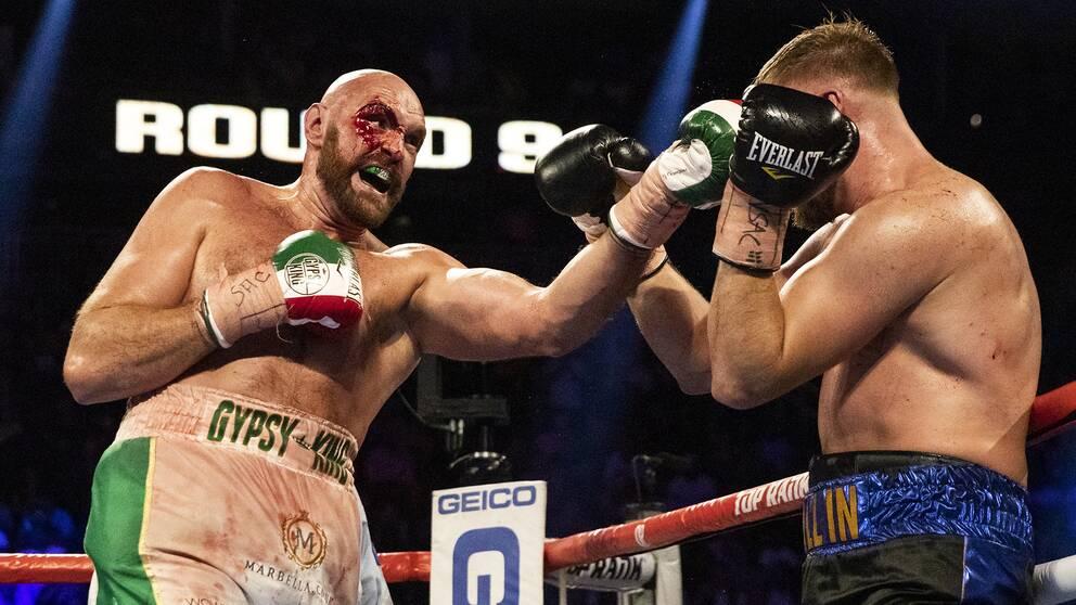 Otto Wallin överraskade många när han gick tolv ronder mot ex-världsmästaren Tyson Fury i höstas.