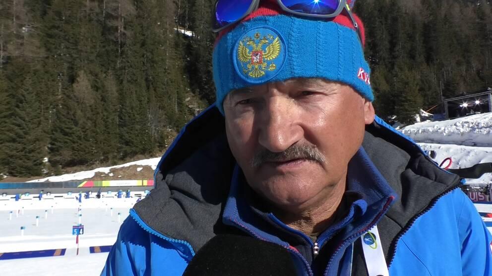 Ryske ledaren Anatolii Khovantcev.