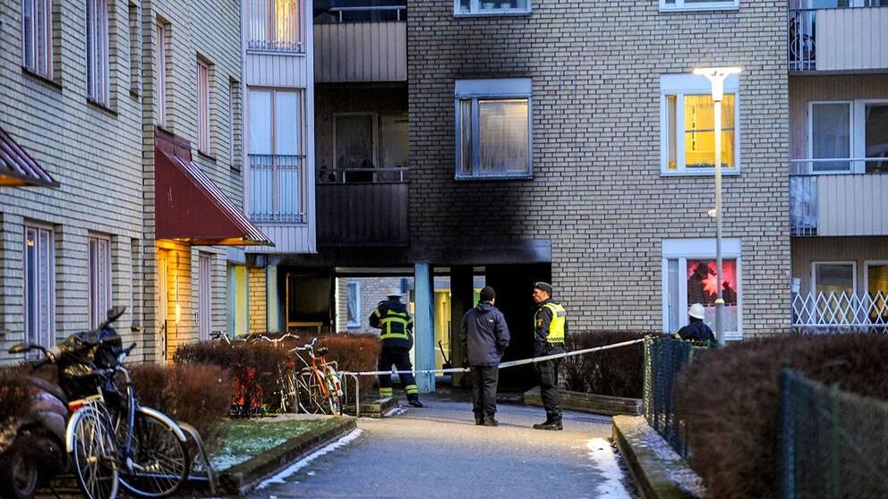 Efter moskébranden i Eskilstuna på juldagen