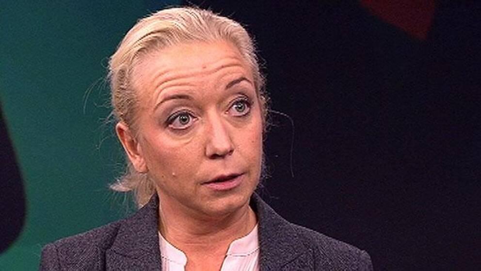 Elisabeth Marmorstein, politikreporter, SVT