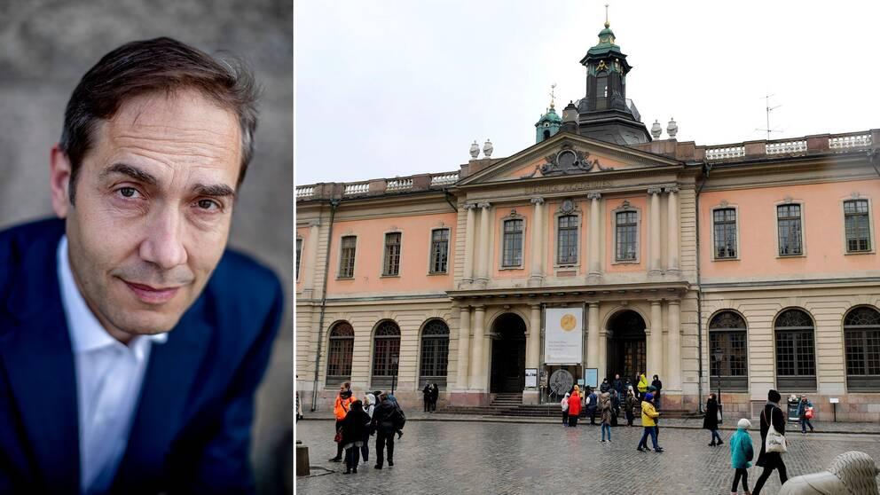 Mats Malm, Svenska Akademiens ständige sekreterare.