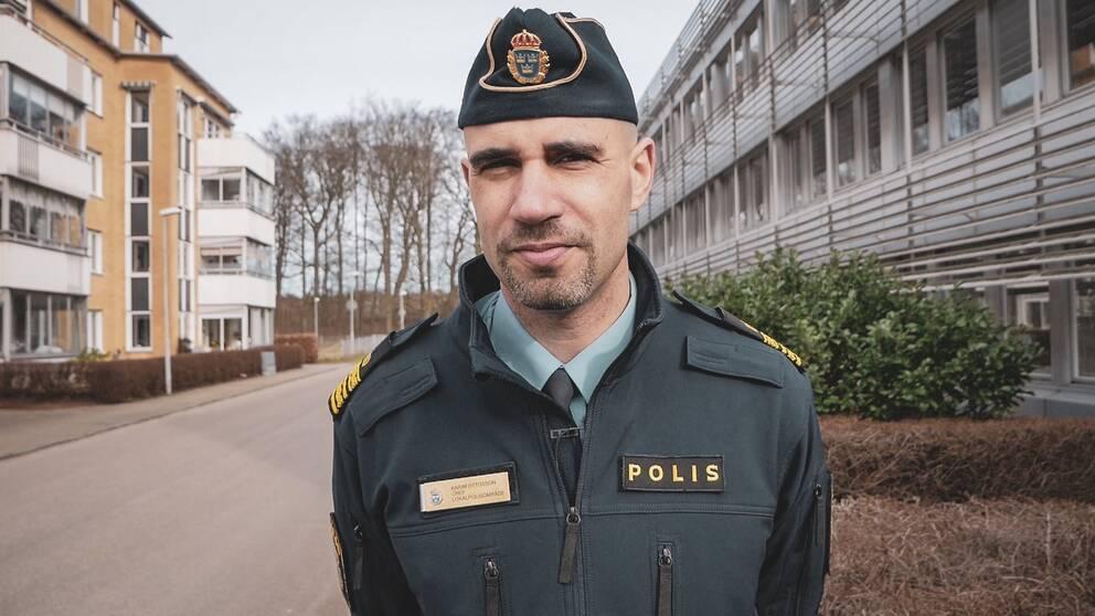 Ängelholms lokalpolisområdeschef Karim Ottosson