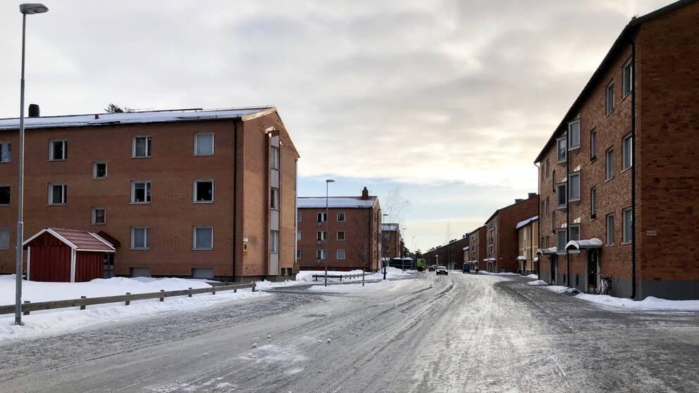 Edeforsgatan, Edefors i Luleå, Örnäset i Luleå