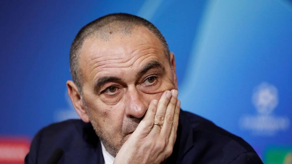 Juventus tränare Maurizio Sarri