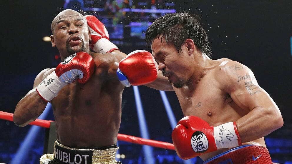 Floyd Mayweather och Manny Pacquiao är två boxare som har tagit sig från fattiga förhållanden till att bli globala superstjärnor.