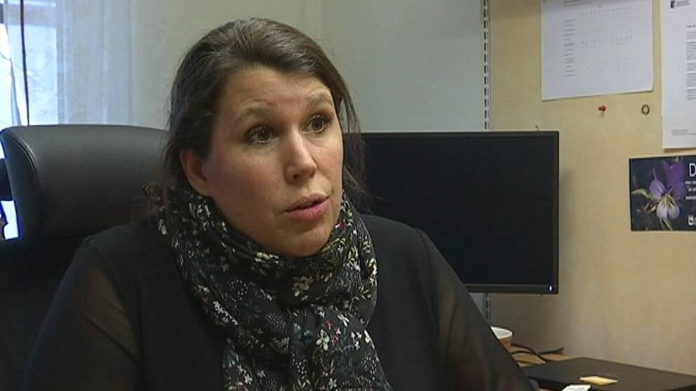Maria Söderlund, bygg- och miljöchef vid Sollefteå kommun.