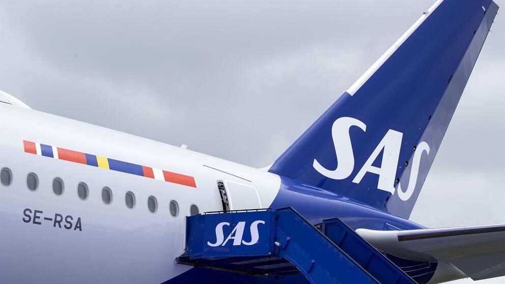 Coronaviruset har nu gett konsekvenser för det skandinaviska flygbolaget SAS.