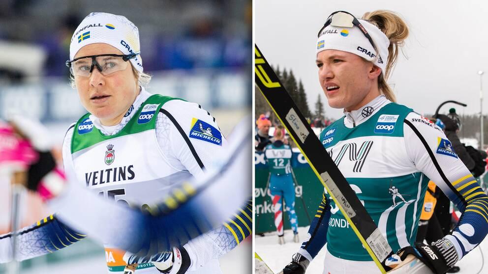 Hanna Falk och Linn Svahn.