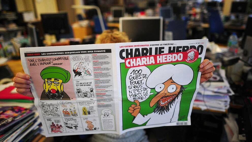 Karikatyrer av muhammed startade krisen