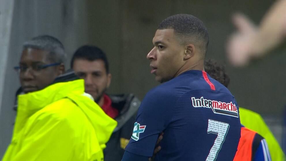 Mbappés solomål tog PSG till final.