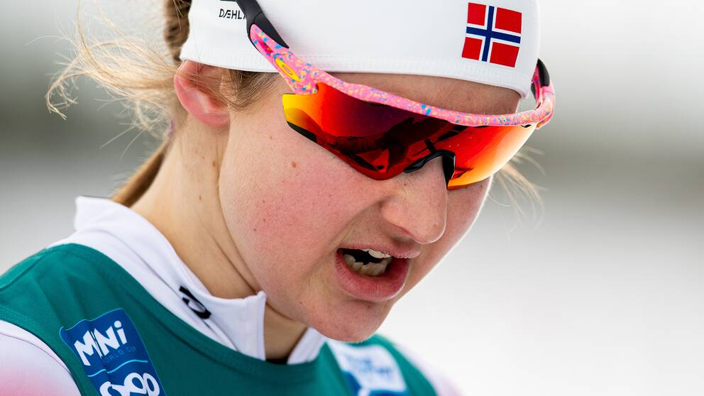 Ingvild Flugstad Östberg tvingas avbryta säsongen.