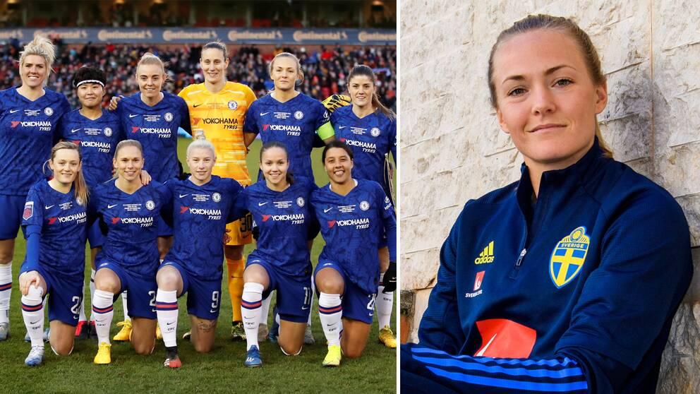 Magdalena Eriksson hoppas att Chelseas arbete kan bidra till att ta bort stigmat runt mens och elitidrott.