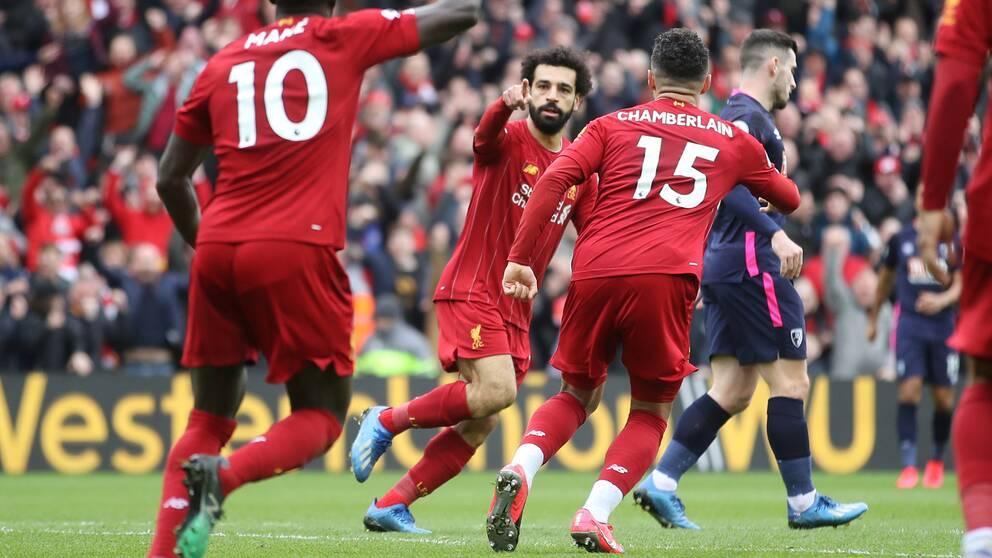 Liverpool vände och vann mot Bournemouth.