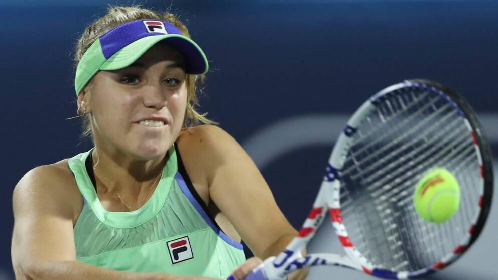 Sofia Kenin vann Lyon Open.
