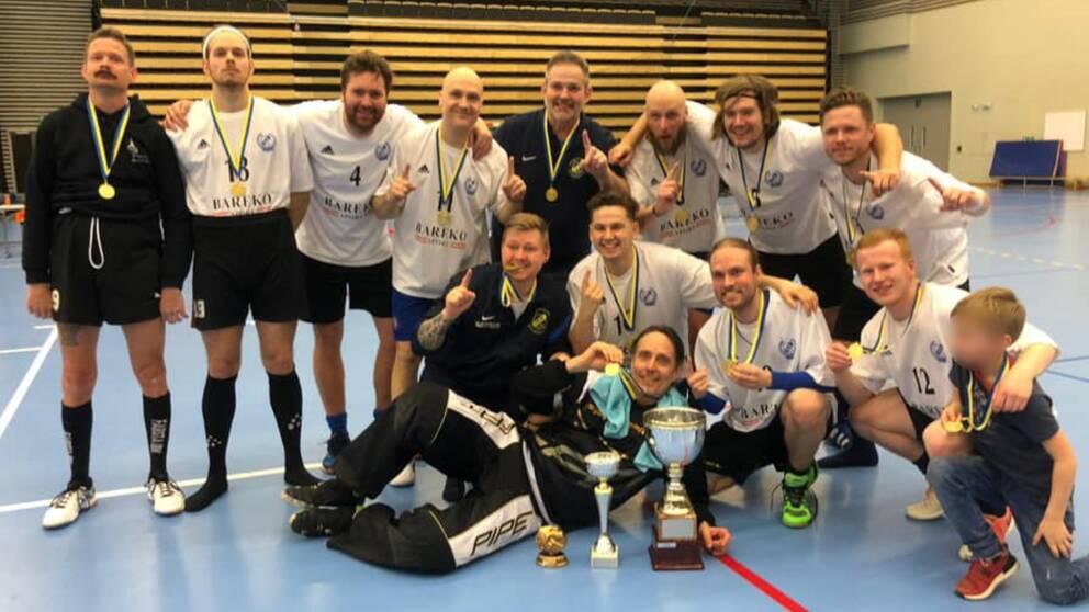 IK Hephata svenska mästare i innebandy för döva