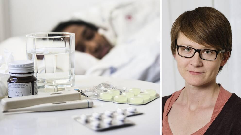 Den vanliga influensan verkar bli mindre allvarlig i år, enligt epidemiolog AnnaSara Carnahan som följer utvecklingen på Folkhälsomyndigheten.