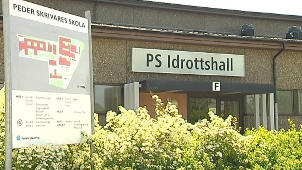 Peder Skrivares skola i Varberg.