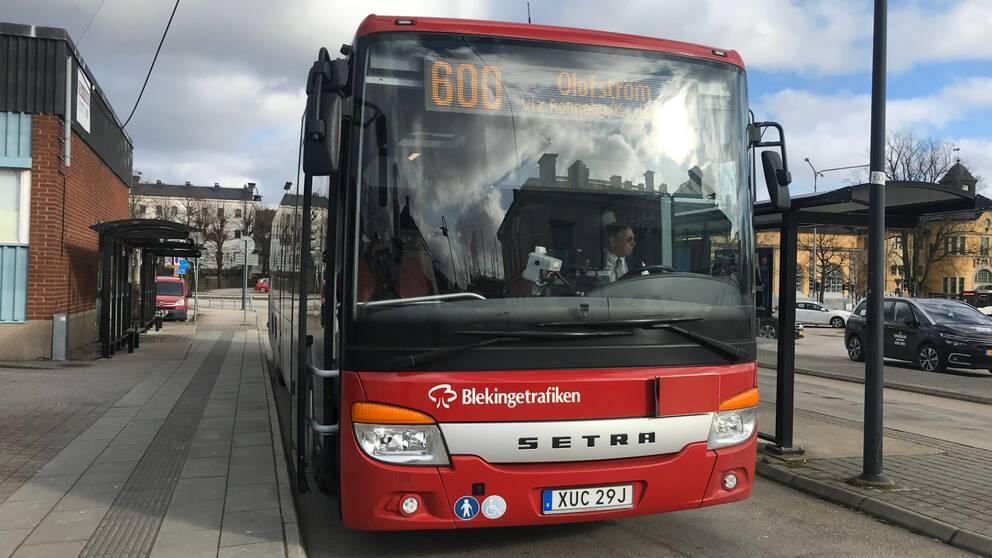 blekingetrafiken, buss