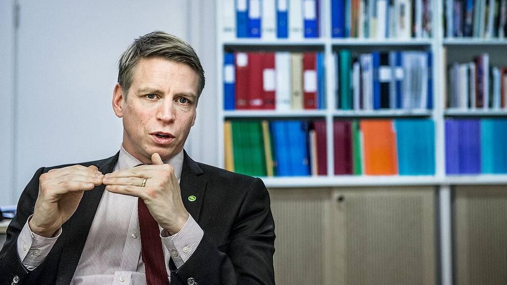Per Bolund (MP), finansmarknads- och konsumentminister