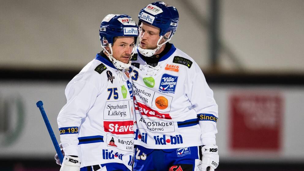 Jesper Eriksson sköt Villa till final.