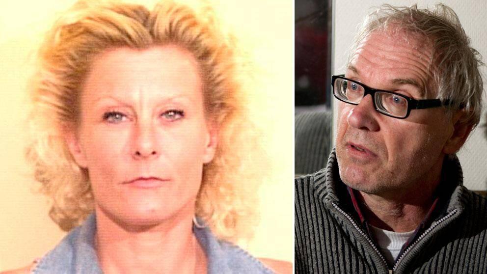 Colleen LaRose, även känd som Jihad Jane, till vänster. Den svenske konstnären Lars Vilks till höger.