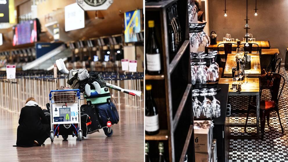 Rese- och restaurangbranscherna hör till de hårdast drabbade i den rådande ekonomiska krisen.