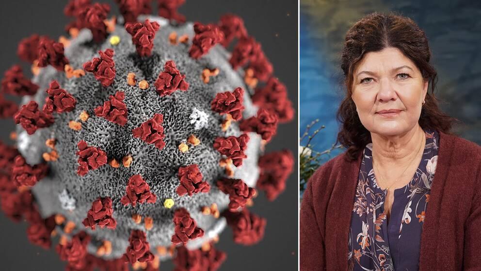 Coronavirus och Karin Granberg, läkare i Fråga doktorn.