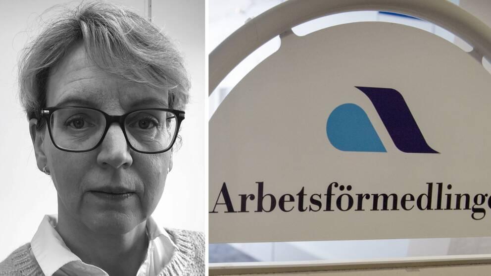 Madeleine Palmhager är företagsrådgivare på Arbetsförmedlingen i Halmstad.