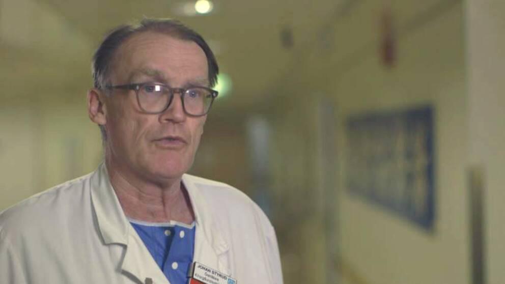 Bild på Johan Styrud, överläkare på Danderyds sjukhus och ordförande i Stockholms läkarförening.