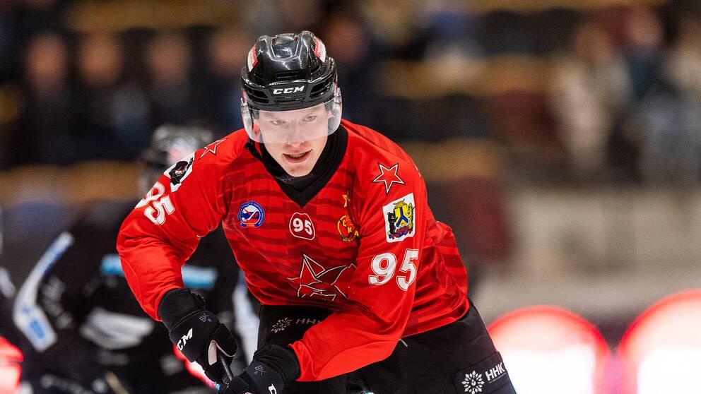 Svenske Erik Pettersson får vänta på att spela rysk bandyfinal för sitt Neftyanik
