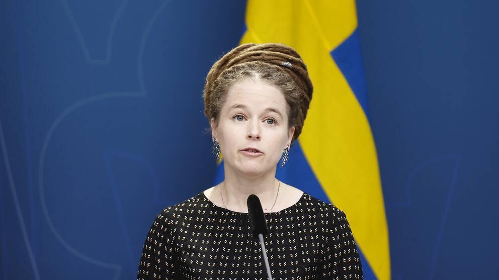 Kultur- och idrottsminister Amanda Lind (MP)