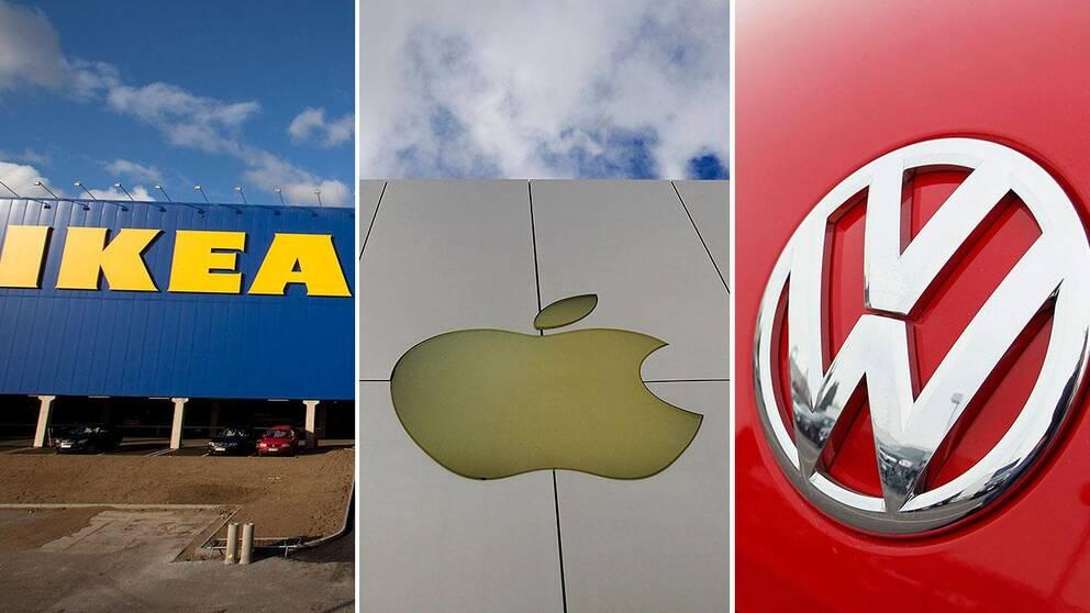Ikea, Apple och Volkswagen var några multinationella företag som slöt hemliga avtal med Luxemburgs skattemyndighet med skatteplaneringssyfte.