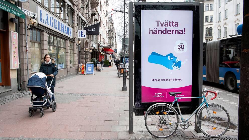 Ödsliga gator i Stockholm