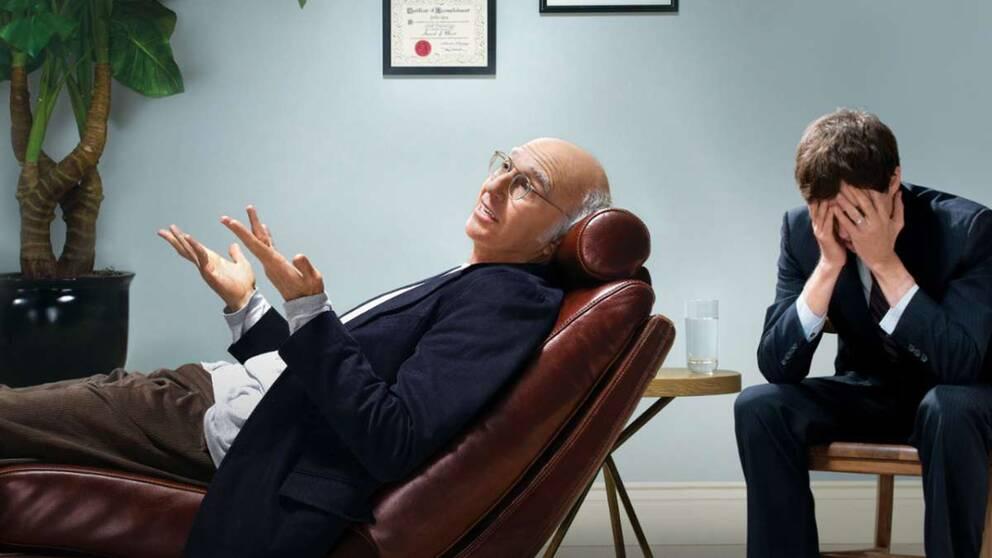 Larry Sanders skruvade komediserie Curb your enthusiasm har nått internationell kultstatus, och är nu uppe i sin tionde säsong.