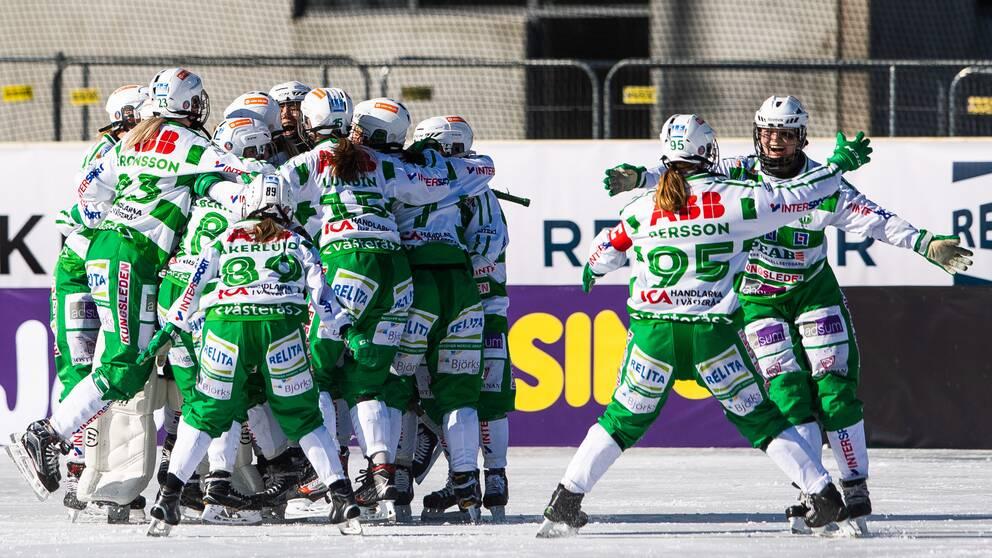 Västerås vann SM-guld efter en galen vändning.