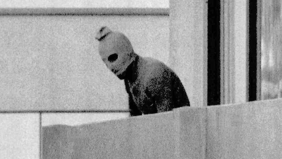 Terrorrörelsen Svarta September skakade om spelen i München 1972.