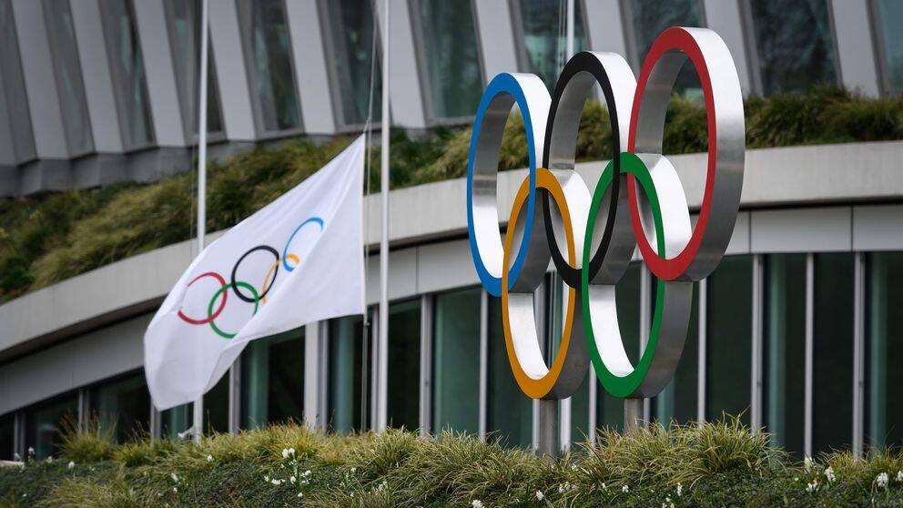 OS i Tokyo skjuts upp.