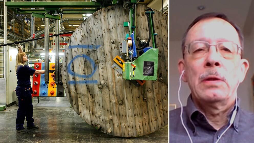 Lars Camlfors, professor emeritus i internationell ekonomi vid Stockholms universitet.