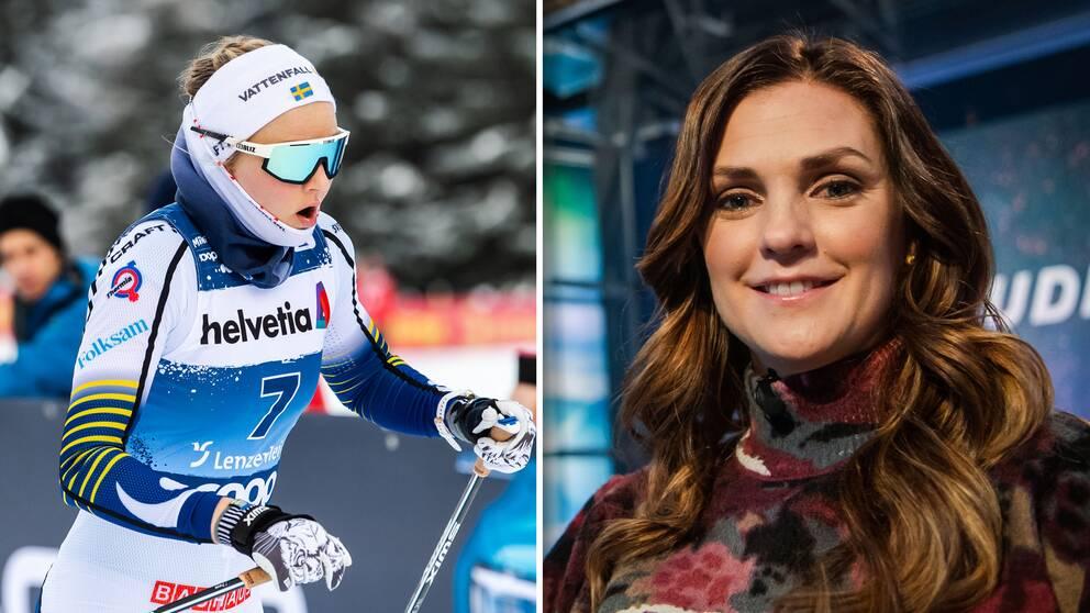 Stina Nilssons sportbyte kom som en överraskning för Johanna Ojala.